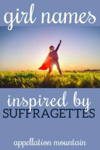 suffragette names