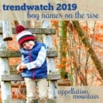 Trendwatch 2019 boys predictions