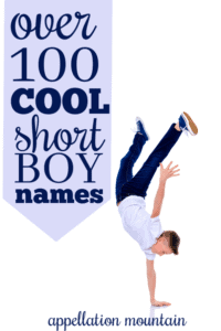 Cool Short Boy Names