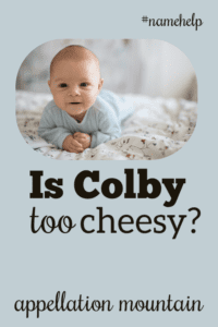 Name Help: Colby