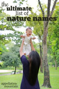 Ultimate List of Nature Names