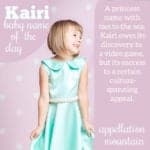 Kairi: Baby Name of the Day