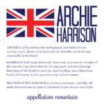 Welcome Archie Harrison!