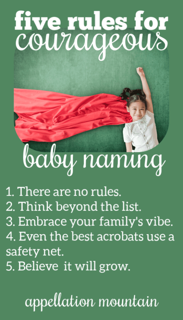 Courageous Baby Naming