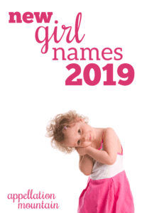 New Girl Names 2019