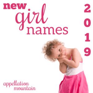 New Girl Names 2019