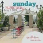 Sunday Summary: 5.5.19