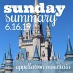 Sunday Summary: 6.16.19