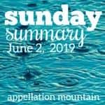 Sunday Summary: 6.2.19