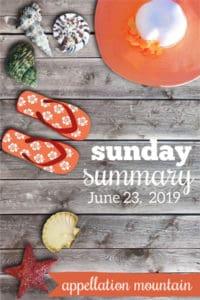 Sunday Summary: 6.23.19