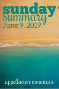 Sunday Summary: 6.9.19