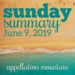 Sunday Summary: 6.9.19