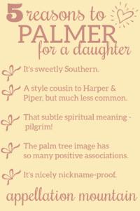 baby name Palmer