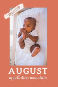 baby name August