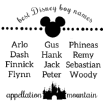 Disney boy names