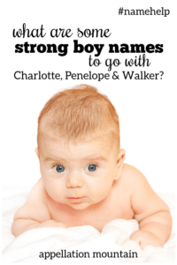 Name Help: Brother for Charlotte, Penleope & Walker