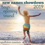 New Names Showdown 2019 Boys Opening Round