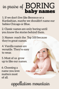 Boring Baby Names