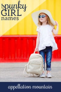 spunky girl names