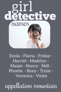 Girl Detective Names