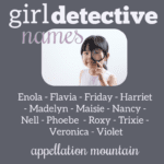 Girl Detective Names: Nancy, Enola, and More