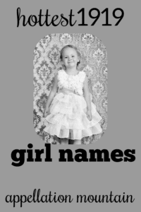 Hottest 1919 Girl Names