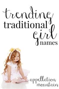 Trending Traditional Girl Names 2019