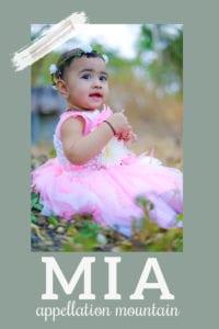 baby name Mia