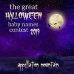 Great Halloween Baby Names Contest 2019: Boys Opening Round