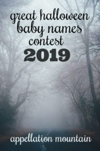 Great Halloween Baby Names Contest 2019: Boys SemiFinals