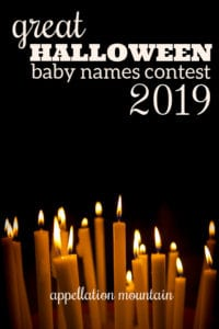 Great Halloween Baby Names Contest 2019: Girls Final