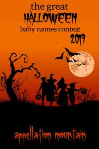 Great Halloween Baby Names Contest 2019: Girls Opening Round