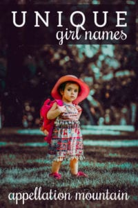 unique and rare girl names