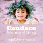 Candace: Baby Name of the Day