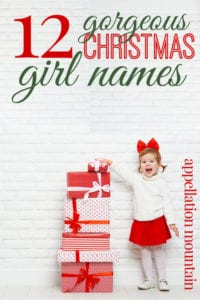 Christmas Girl Names