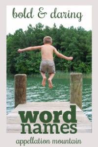 daring word names