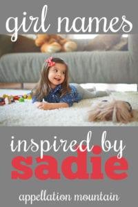 names like Sadie
