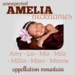 Unexpected Amelia Nicknames