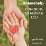 Name Help: Honoring Grandma Lou