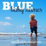 26 True Blue Baby Names