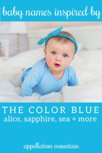 blue baby names