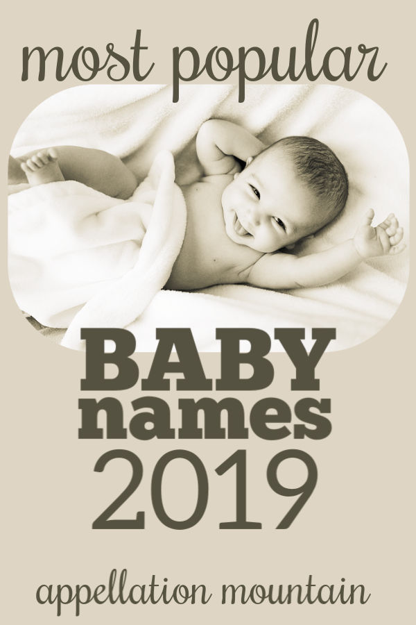Most Popular Names 2019: Maisie and Cove
