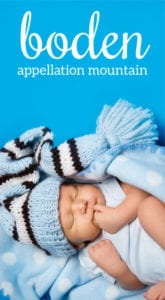Boden: Baby Name of the Day