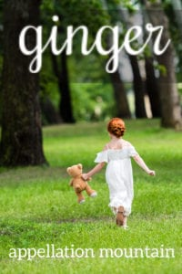 Ginger: Baby Name of the Day