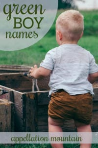 Green Boy Names