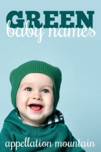 Green Baby Names