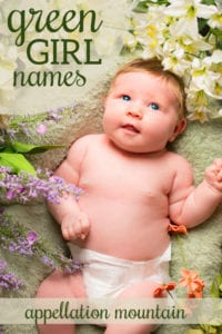 Green Girl Names
