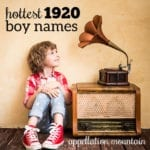 Hottest 1920 Boy Names: Leopold, Jennings, Brooks
