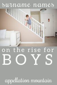 surname names for boys
