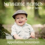 Surname Names for Boys: 25 Fast-Rising Favorites